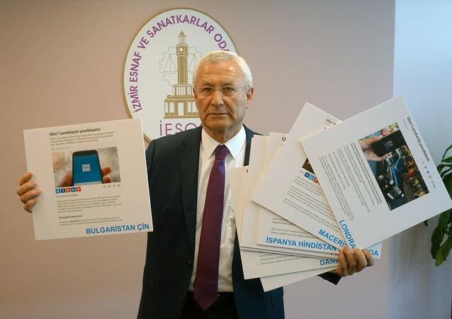 İzmir Şoförler Otomobilciler Esnaf Odası Başkanı Celil Anık