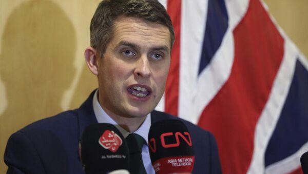 İngiltere Savunma Bakanı Gavin Williamson - Sputnik Türkiye