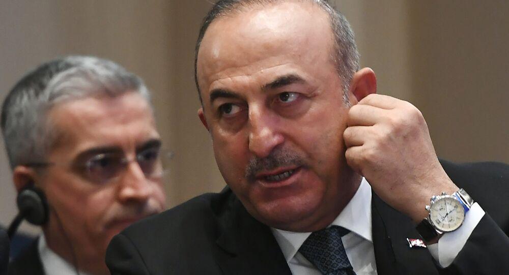 Dışişerli Bakanı Mevlüt Çavuşoğlu