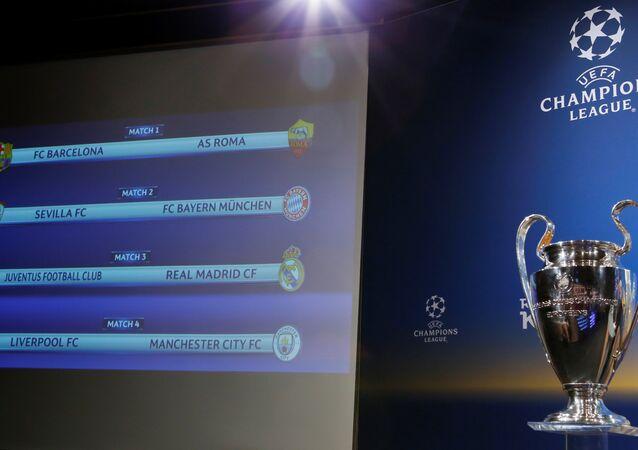 Şampiyonlar Ligi'nde çeyrek final eşleşmeleri