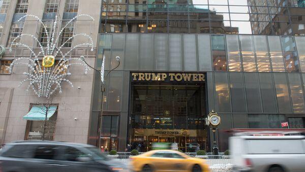Trump Tower Fifth Avenue New York - Sputnik Türkiye