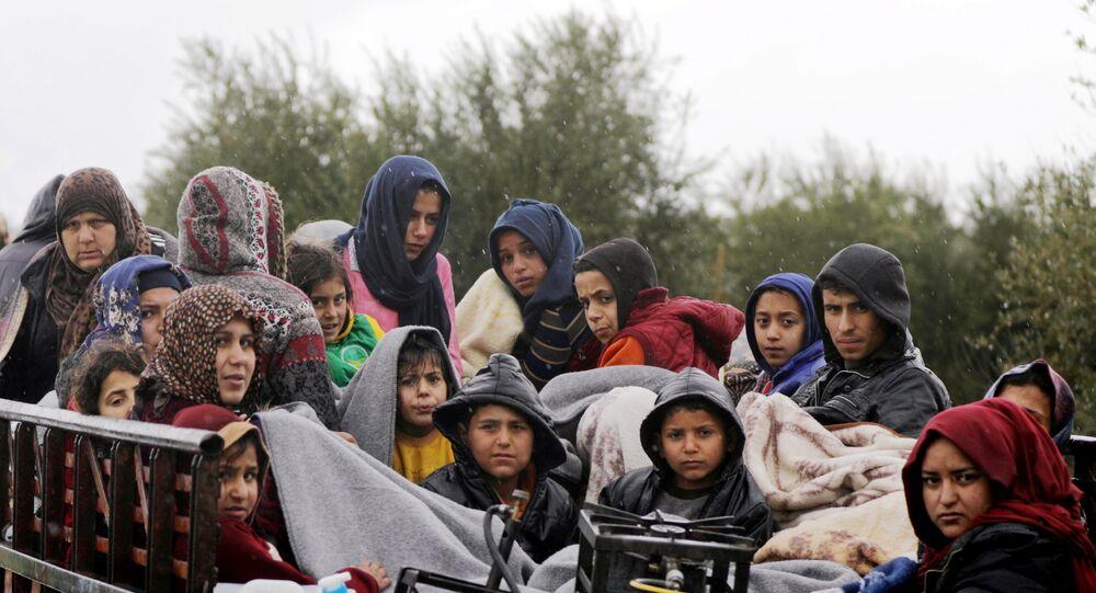 Afrin siviller kaçış
