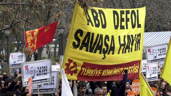 Türkiye Komünist Partisi NATO karşıtı imza kampanyası başlattı - Sputnik Türkiye