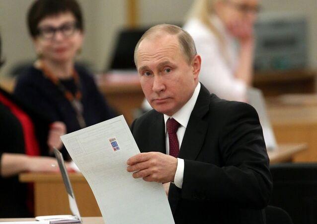 Putin, 2018 seçimleri