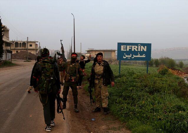 TSK ve ÖSO, Afrin ilçe merkezini ele geçirdi.