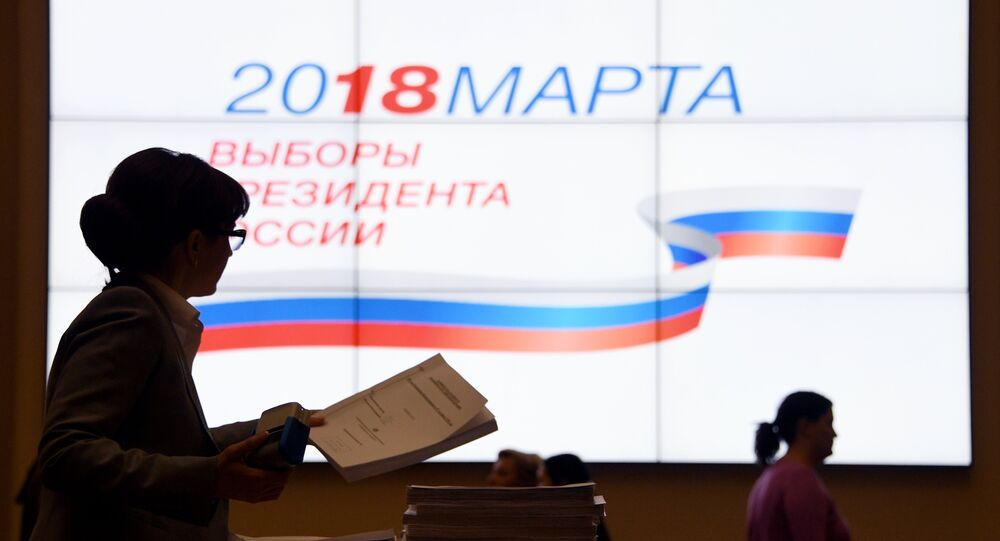 Signatures in support of Vladimir Putin as a candidate in the 2018 presidential election are submitted to Central Election Commission of Russian Federation