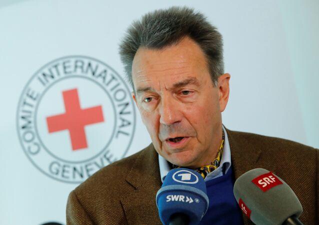 Uluslararası Kızlhaç Komitesi (ICRC) Başkanı Peter Maurer
