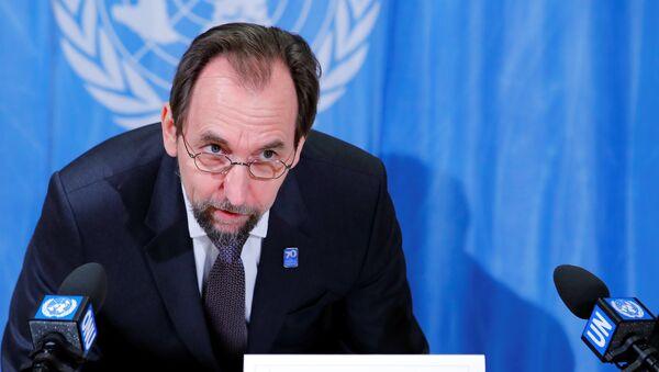 BM İnsan Hakları Yüksek Komiseri Zeyd Raad El Hüseyin - Sputnik Türkiye