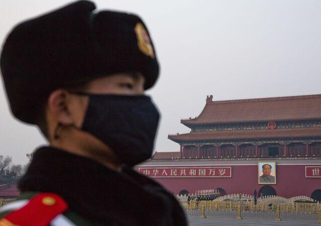 Çin-Pekin-asker