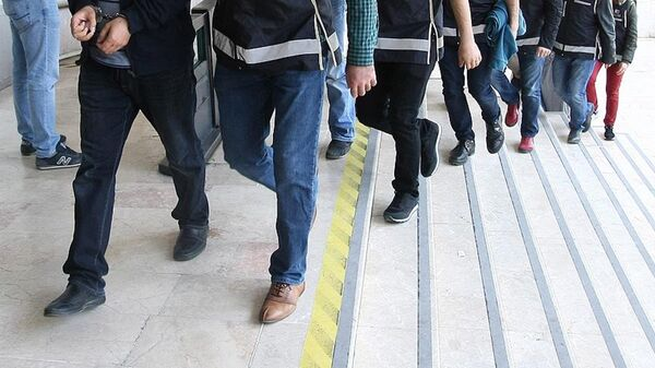 Gözaltı-Polis - Sputnik Türkiye