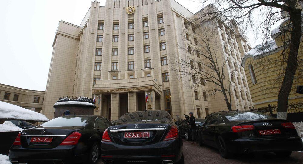 Rusya Dışişleri Bakanlığı- Büyükelçiler toplantısı