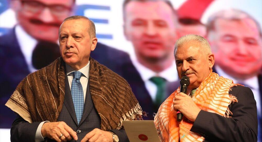 Cumhurbaşkanı Recep Tayyip Erdoğan ile Başbakan Binali Yıldırım