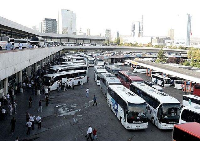 Ankara, otogar, otobüs terminali
