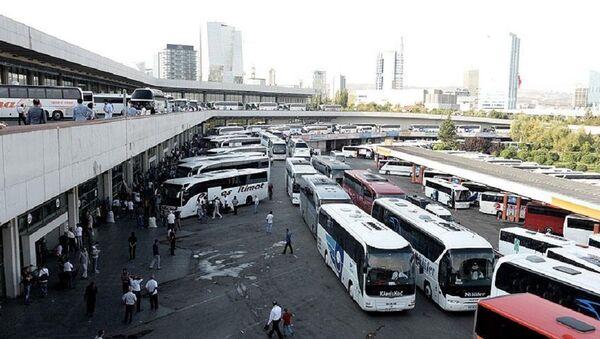 Ankara, otogar, otobüs terminali - Sputnik Türkiye