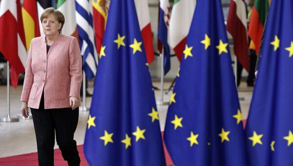 Almanya Başbakanı Angela Merkel, AB Liderler Zirvesi - Sputnik Türkiye