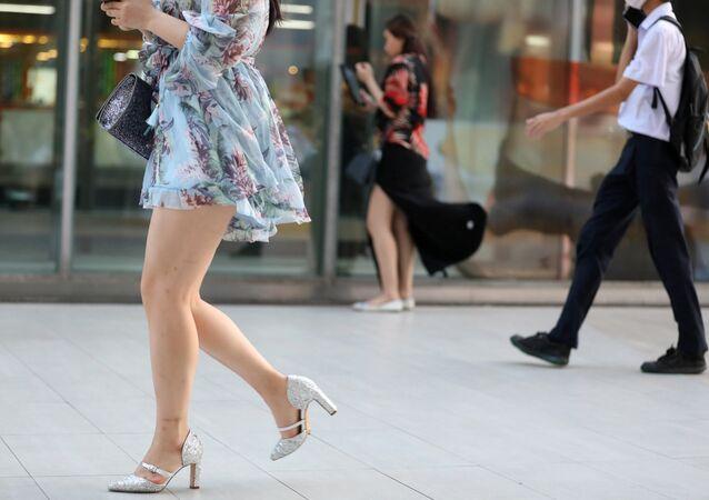 Tayland, kadın, alışveriş
