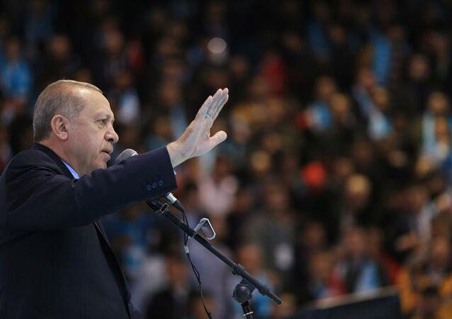 AK Parti Genel Başkanı ve Cumhurbaşkanı Recep Tayyip Erdoğan