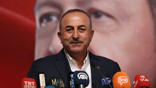 Dışişleri Bakanı Mevlüt Çavuşoğlu - Sputnik Türkiye