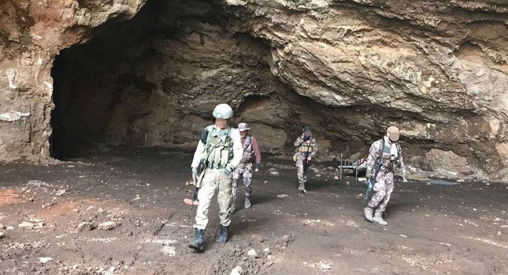 Afrin'de arama tarama faaliyetleri