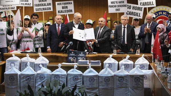 Şeker fabrikaları için 1 milyon 690 bin imza - Sputnik Türkiye