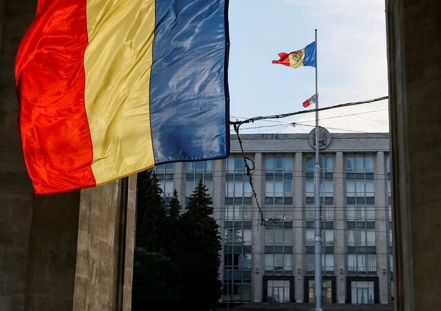 The Moldova's Government building is seen in central Chisinau, Moldova, October 9, 2016