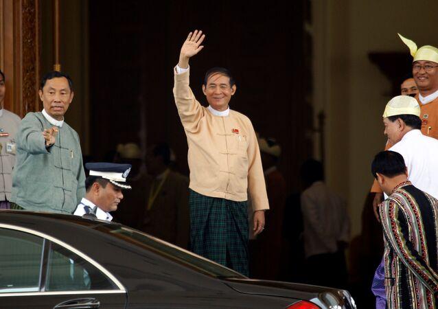 Myanmar Devlet Başkanı Win Myint