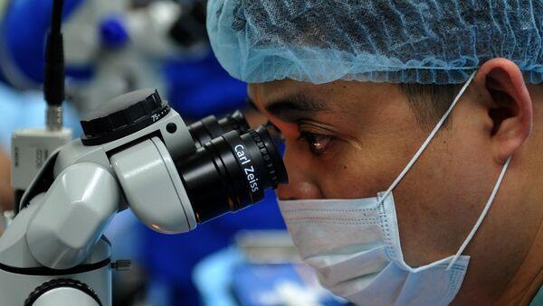 Medikal mikroskop - Sputnik Türkiye