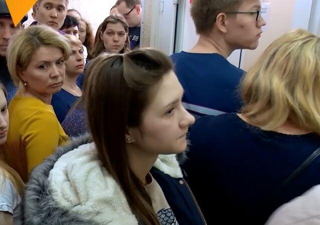 Kemerovo sakinleri yangını anlattı