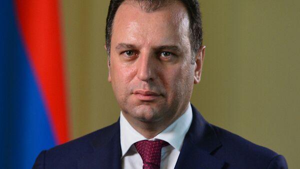 Ermenistan Savunma Bakanı Vigen Sarkisyan - Sputnik Türkiye