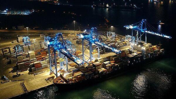 ticaret, ihracat, ithalat, ekonomi - Sputnik Türkiye