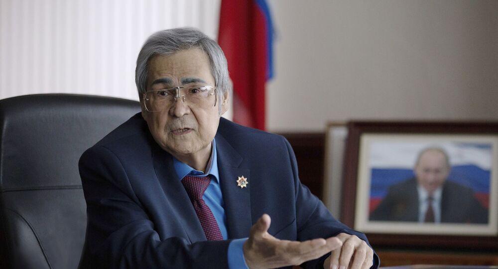 Kemerovo Valisi Aman Tuleyev