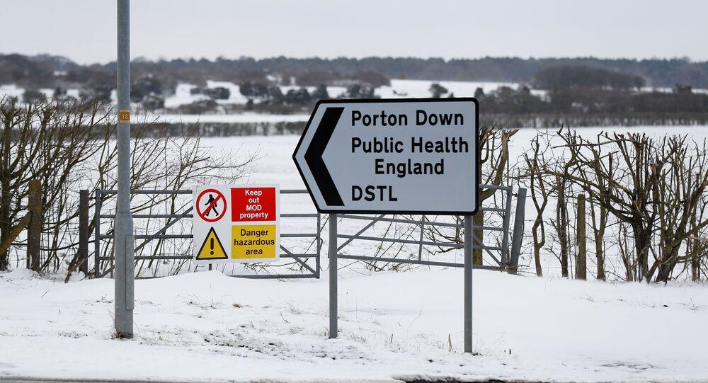 Porton Down Laboratuvarı, Porton Down Defence Science and Technology Laboratory, near Salisbury