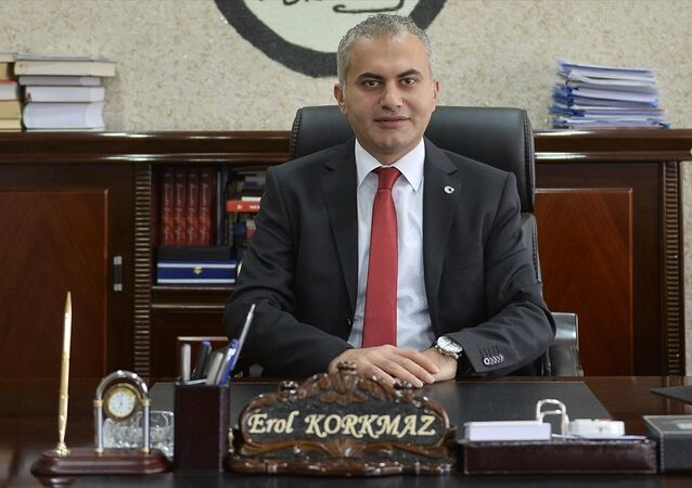 Mardin'in Ömerli Belediye Başkanvekili Kaymakam Erol Korkmaz