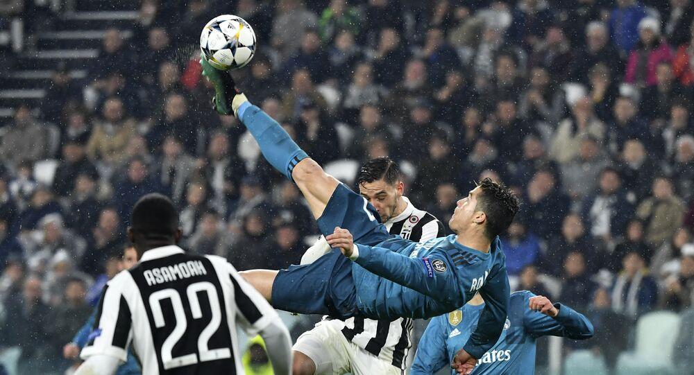 UEFA Şampiyonlar Ligi çeyrek finallerinde Real Madrid'in Juventus'u deplasmanda 3-0 yendiği maça 2 gol 1 asistle damgasını vuran Cristiano Ronaldo'nun ikinci golde rövaşata atarken en az 2.27 metre zıpladığı belirlendi.