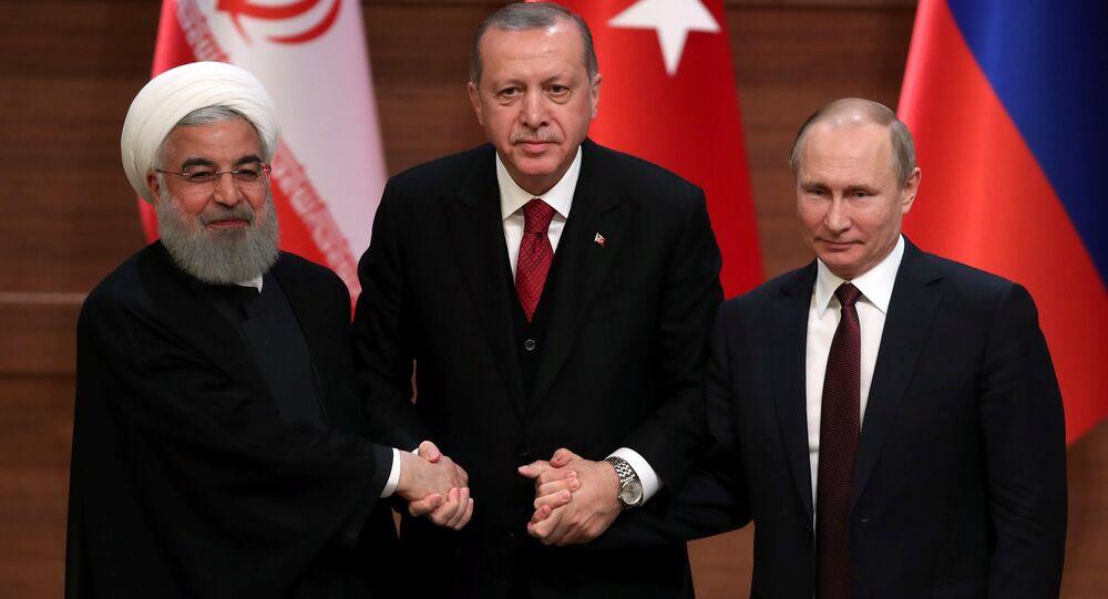 Rusya- İran- Türkiye
