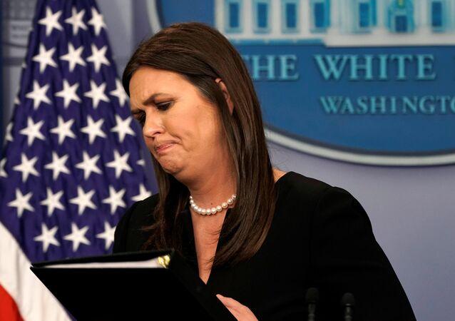 Beyaz Saray Sözcüsü Sarah Sanders