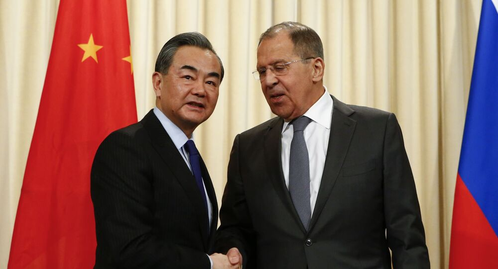 Rusya Dışişleri Bakanı Sergey Lavrov- Çinli mevkidaşı Wang Yi
