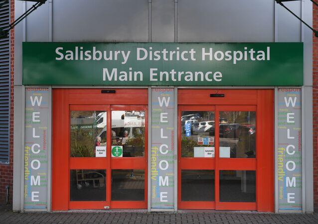 Sergey-Yuliya Skripal Salisbury Bölge Hastanesi