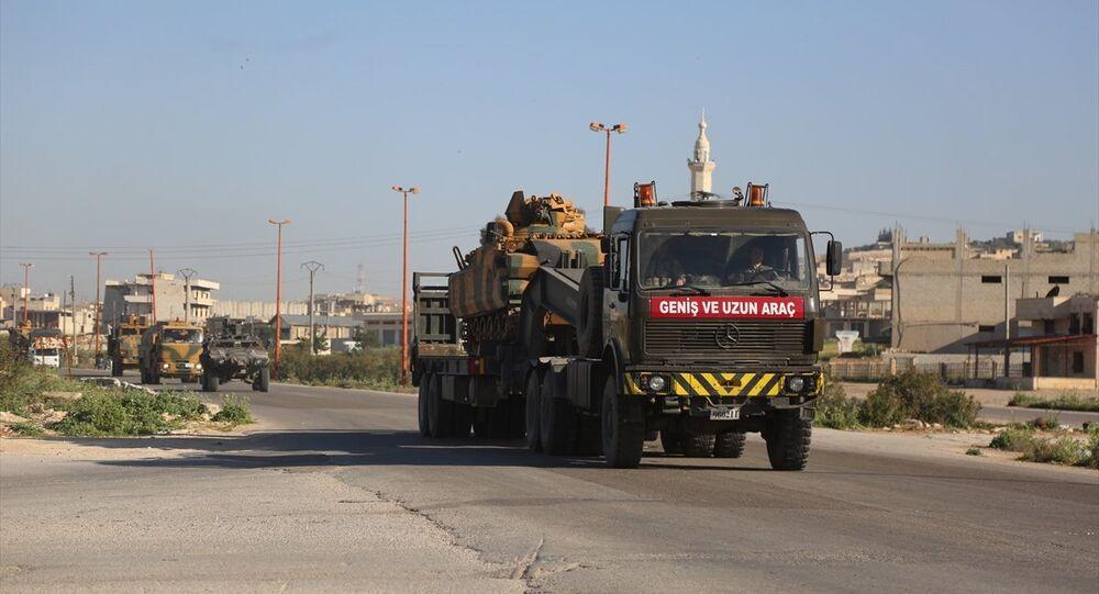 TSK konvoyu yeni gözlem noktası için İdlib'de
