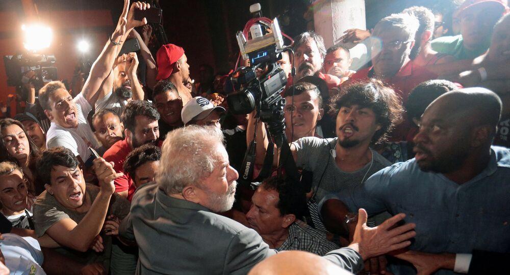 Eski Brezilya Devlet Başkanı Lula