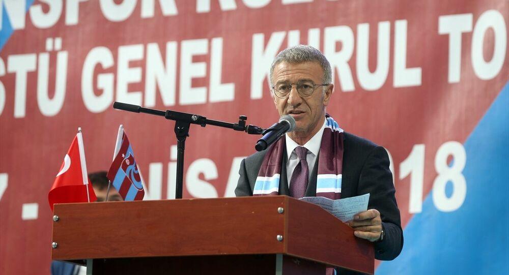 Trabzonspor Kulübünün 73. genel kurulunda başkanlığa Ahmet Ağaoğlu seçildi.