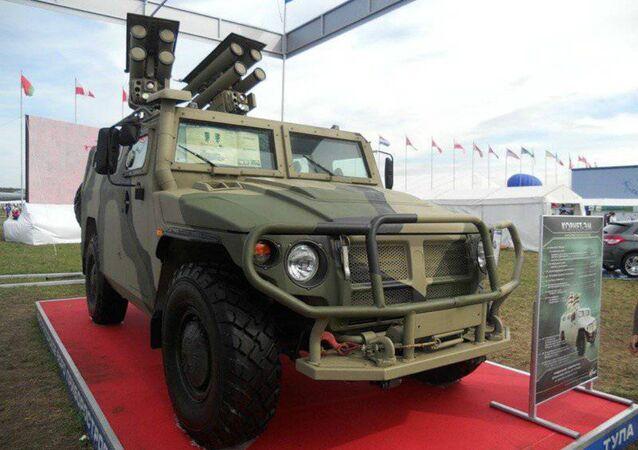 The Kornet-EM anti-tank missile system