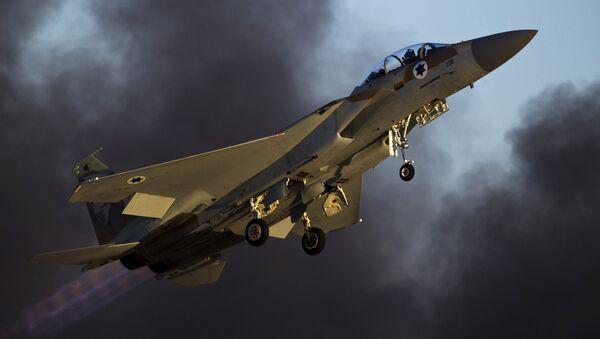 İsrail F-15 savaş uçağı - Sputnik Türkiye