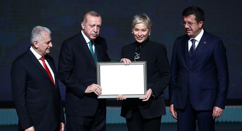 Binali Yıldırım, Recep Tayyip Erdoğan, Leyla Alaton, Nihat Zeybekci