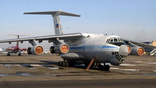 'Ilyushin-76' tipi uçak - Sputnik Türkiye