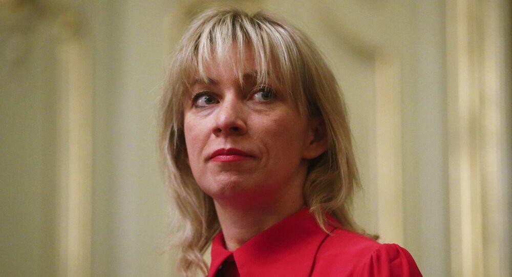 Rusya Dışişleri Sözcüsü Mariya Zaharova