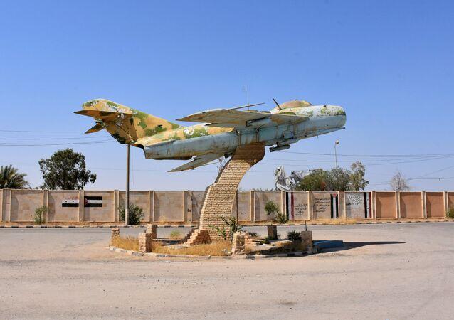 Suriye Deyr ez Zor askeri havaalanı