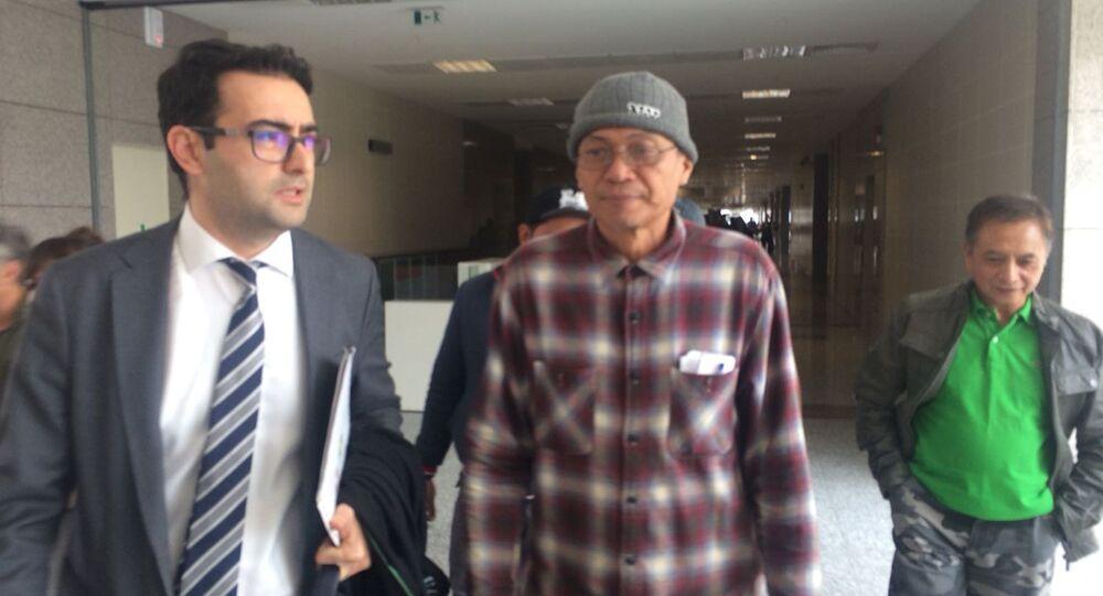İstanbul Boğazı'nda Hekimbaşı Salih Efendi Yalısı'na çarpan kaptan Edgardo Deseo