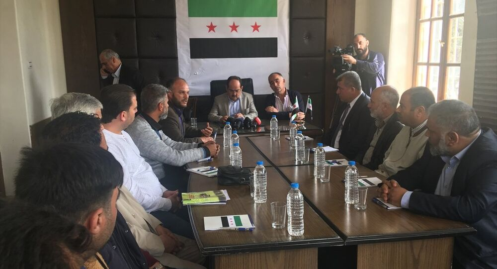 Afrin, geçici meclis
