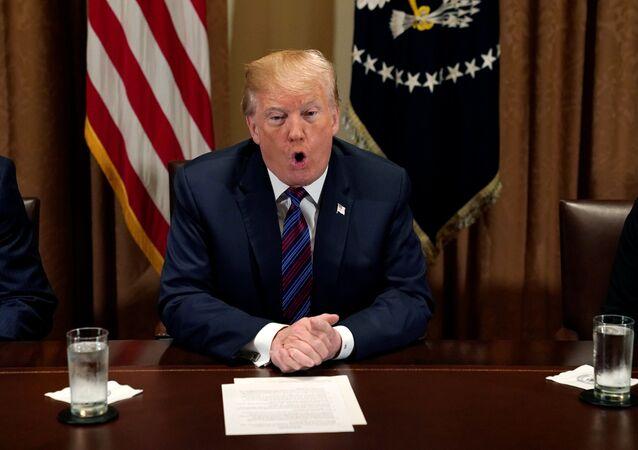 ABD Başkanı Donald Trump, Suriye açıklaması, Beyaz Saray, 12 Nisan 2018
